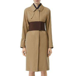 Burberry Belted Car Coat Trench